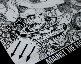 Against The Fascist Creep 2 BackPatches