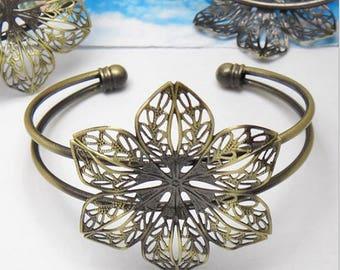 Cuff Bracelet 1 x Bronze (SJ081)