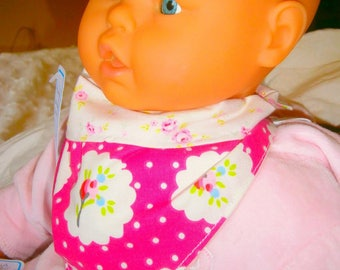 Little baby dribble bib triangle