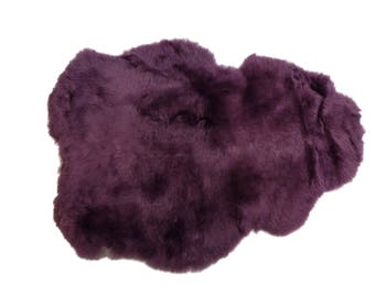 Dyed Icelandic Sheepskin, Shorn: Lavender(7-02LV-G1904)