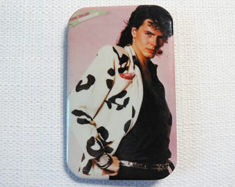 BIG Vintage 80s John Taylor - Duran Duran Pin / Button / Badge