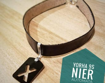 Nier Automata 9s choker necklace