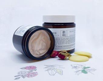 BUTTERCRÈME [Blush]   O R G A N I C   Thick Body Cream   Nourish and Moisturise   Dry Skin  