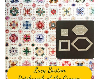 Lucy Boston Patchwork of The Crosses Patchwork Template Set