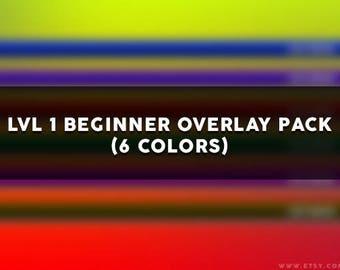 LVL 1 Beginner Overlay Pack