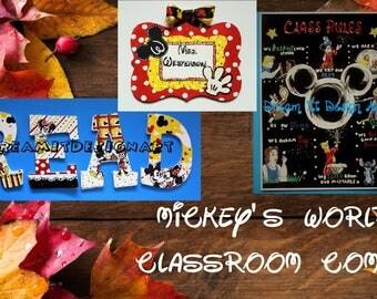 Mickey's World Classroom Combo