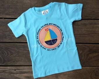 Bible Verse Sailboat Shirt