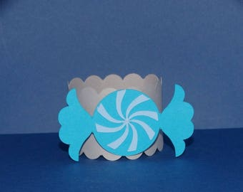 Napkin ring candy sweet