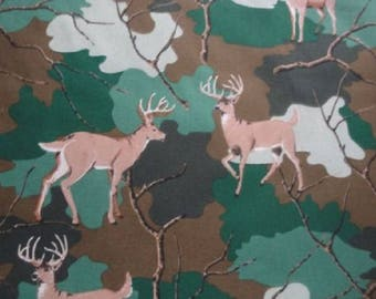 """Deer in the Forest-Quilt Backing-108"""" Wide-Choice Fabrics"""