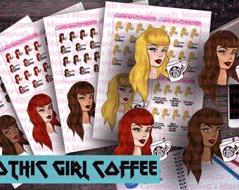 Gothic Girl Coffee - All skintones