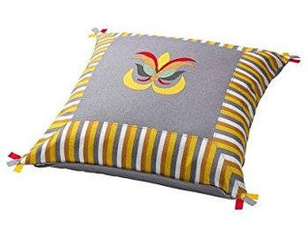 Multicolred cotton printed Pillow Cover