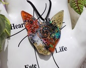 Orgonite® - Orgonite® Pendant - Cat - Necklace - Handmade - Orgone Generator® - Crystals - Gift - EMF Protection - HoodXHippie