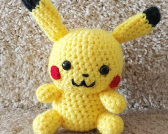 Crocheted Pika Toy