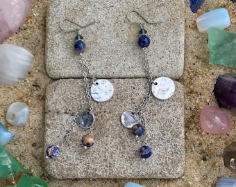 Blue Sodalite Earrings