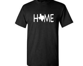 Texas Home Shirt, Texas Shirt, Texas gift