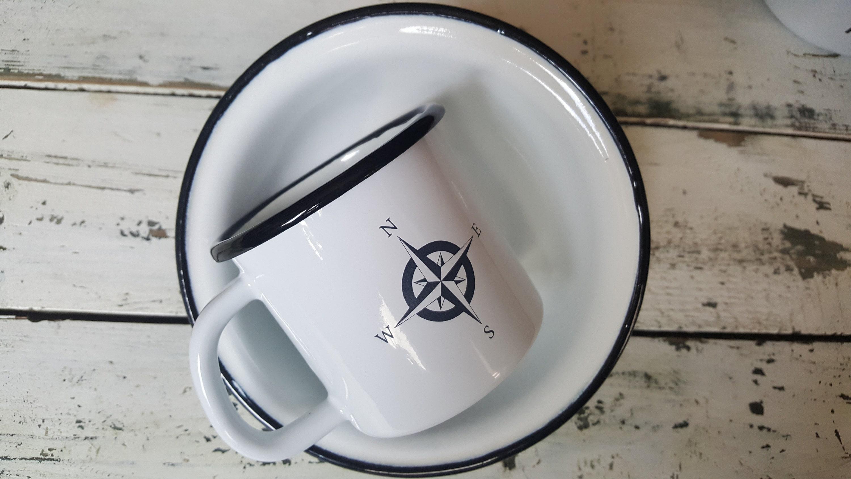 Custom Enamel Coffee Mug