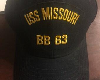 USS Missouri adjustable hat