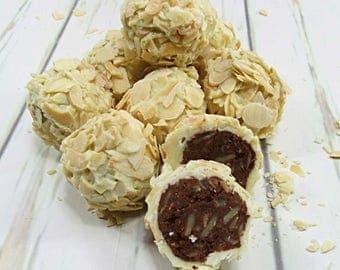 Rochers chocolat blanc, Fête des mères, cadeau d'anniversaire
