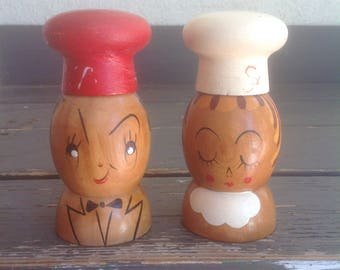 Woodpecker Woodware Salt And Pepper Shakers