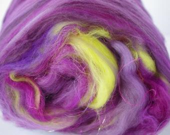 "Art Batt/ Sari Silk Threads/ Merino/ ""All That Jazz""/ Malabrigo Nube/ Hand Candy"