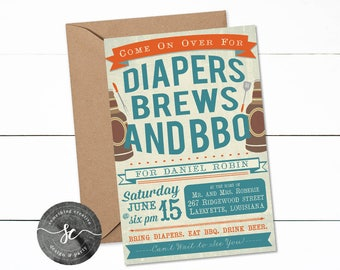 Diapers Brews and BBQ, Diaper Party, Diaper Exchange, Diapers and Brews, Diaper Shower