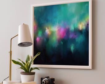 Abstract Art Paper Print | Modern Abstract Painting | Modern Art Print | Original Abstract Painting | Home Decor