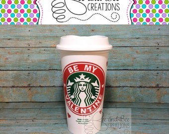 Personalized Starbucks Cup / Reusuable Starbucks Cup / Personalized Travel Coffee Mug / Travel Mug SALE