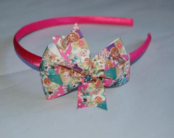 Little Girl Hairband with Barbie Bow