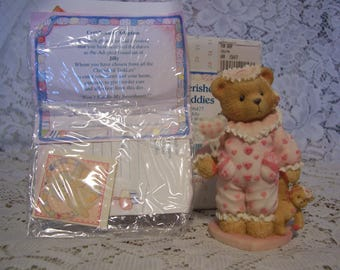 Cherished Teddies JILLY Figurine with Box and Certificate