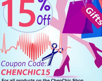 Coupon Codes. Discount Code. Not For Sale. Chen Chic 15% Off Coupon Code: CHENCHIC15