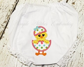 Easter Chick Baby Bloomer