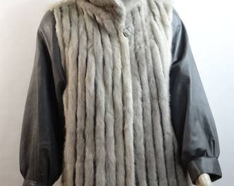 Craxton and leather coat