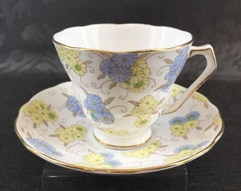 Radfords Fenton Bardia Flower Bone China Tea Cup Vintage England