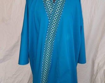 Juban; cotton kimono under robe