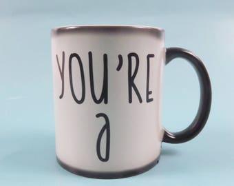 Mature sweary mug, Colour change mug, rude mug, censored, UNT mug, c*nt coffee cup, Colour Changing, Heat Sensitive, Magic Mug