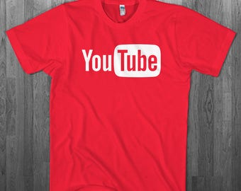 YouTube fan T-shirt  Youth Adult toddler size Tee Shirts