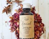 Facial Serum, Luxury Oil, Anti-Aging Skin Treatment, Facial Oil, Rosehip Oil Skincare