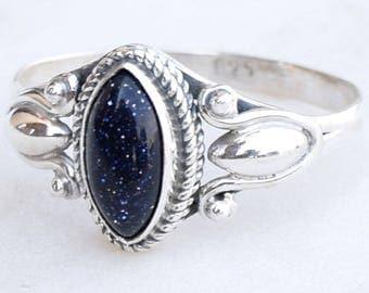 Black Sandstone Ring, Sunstone Ring, Black Silver Ring, Silver Ring, Ring, Gypsy Ring, Bohemian Ring, Women Ring, Girl Gift Ring ,