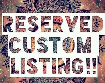 Custom Order - Matching Embellished Bottoms - Lingerie/Clothing Order ADD ON