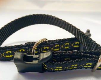 Small Batman Dog Collar!!!