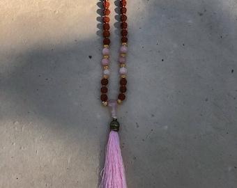 108 Bead Rudraksha Prayer Mala