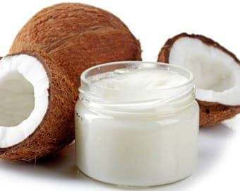 Organic Unrefined Extra Virgin Coconut oIl extracted from the coconut meat smells like a coconut from 4 fl.oz up to 7 lbs