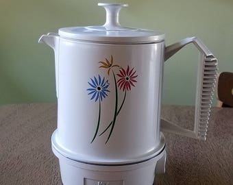 Vintage Regal Poly Hot Pot 5 cups Electric Hot Water Kettle