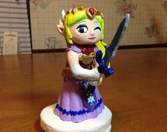 The Legend of Zelda Wind Waker - Zelda Figurine