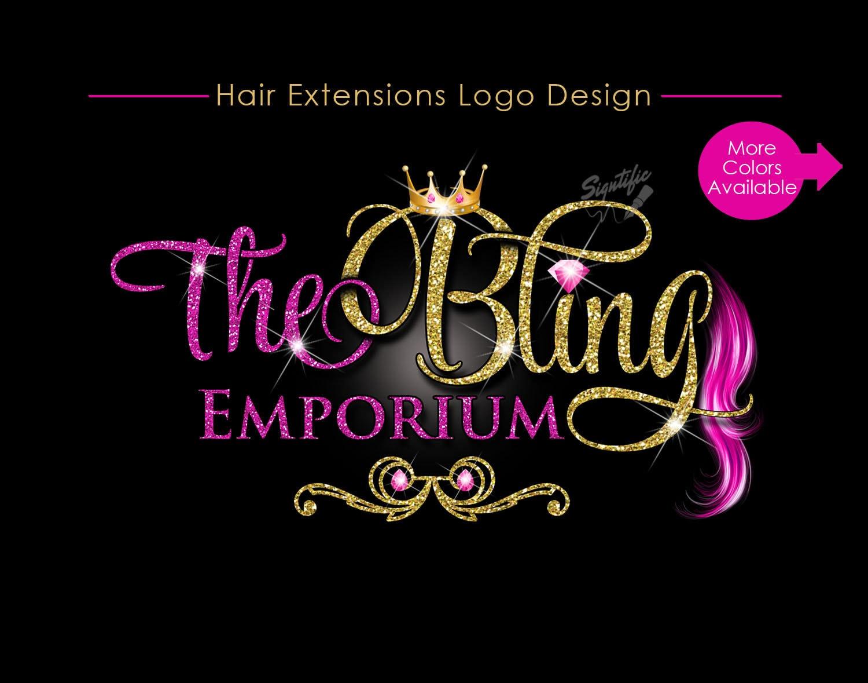 hair extensions logo virgin hair logo design hair