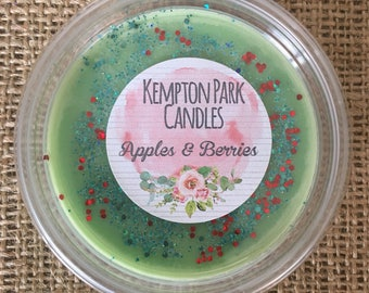 Apples & Berries Scented Soy Wax Melt Pot