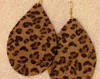 Leopard large Teardrops