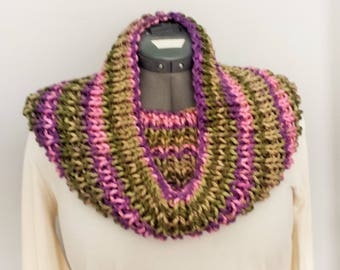 Fleur Cowl - Hand Knitted for Adult Size