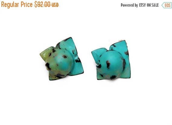 On Sale Handmade, Distressed Earrings - Boardwalk at Midnight