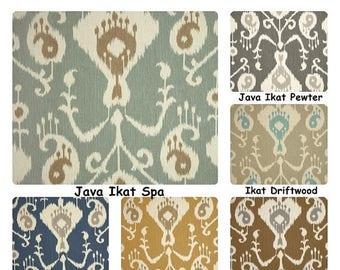 Summer SALE Ikat curtains Rod pockert curtains drapery panels custom drapes window treatment long curtains custom drapery panels